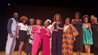 All of the honorees, as well as the Reel Sisters Festival organizers and presenters.
