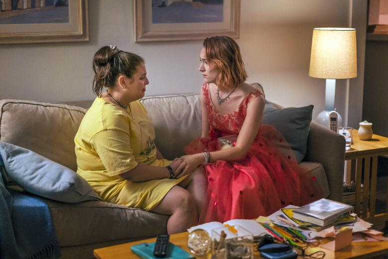"Beanie Feldstein and Saoirse Ronan, ""Lady Bird"" from EPK.tv"